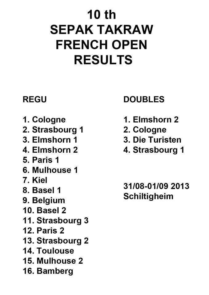 results France 2013